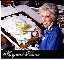 Margaret Keane Painting