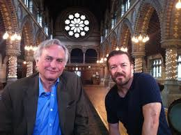 Image result for richard dawkins ricky gervais london
